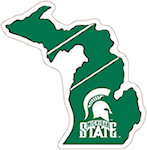 State of Michigan Magnets